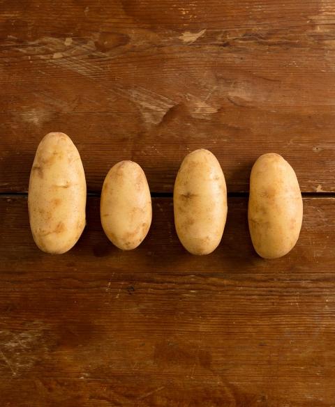 Patatas fáciles de pelar