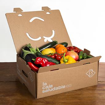 Caja de verduras ecologicas